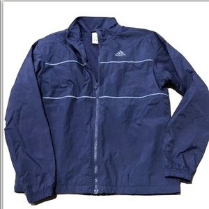 Adidas Vintage Windbreaker jacket Blue Purple M